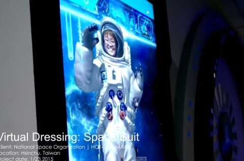 Virtual Dressing Room: Spacesuit