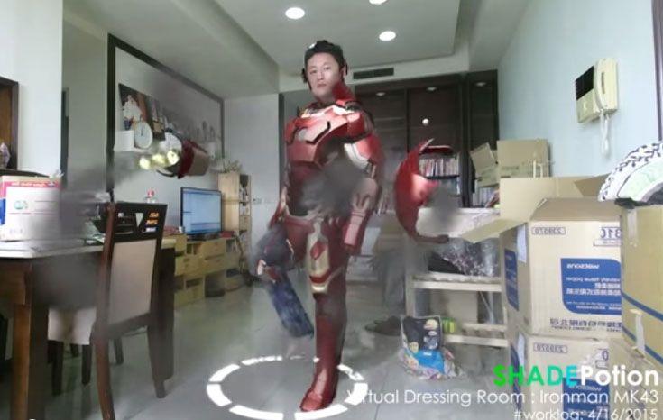 鋼鐵人變身(MK43) | VirtualDressingRoom-Ironman MK43