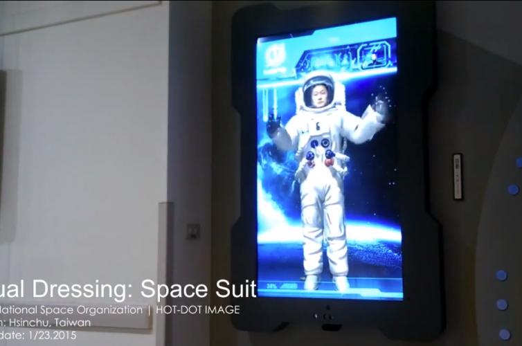 虛擬試衣應用: 太空裝 | Virtual Dressing: Space suit