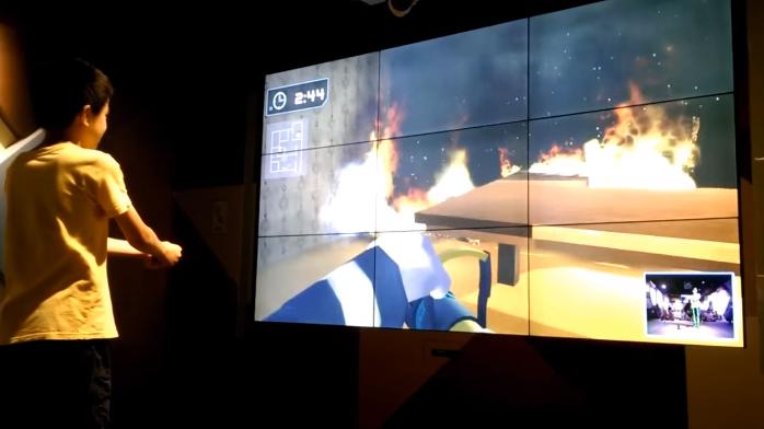 虛擬角色體驗 : 消防員 | Avatar Controlling : Fire Fighter
