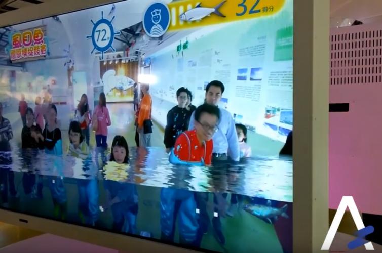 北門遊客中心AR互動體驗設施 | Fish Catching & BaySalt AR